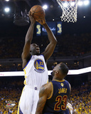 Draymond Green Dunks Over LeBron James in Game 1 of the 2015 NBA Finals Photo