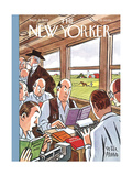 The New Yorker Cover - September 21, 1940 Premium Giclee Print by Peter Arno