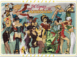 DC Bombshells 1000 Piece Puzzle Jigsaw Puzzle