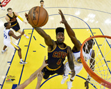 Iman Shumpert Layup in Game 2 of the 2015 NBA Finals Photo