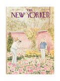 The New Yorker Cover - July 21, 1980 Premium Giclee Print by Charles Saxon