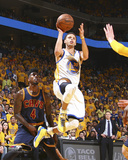 Stephen Curry Shooting the Ball Game 1 of the 2015 NBA Finals Photo