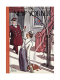 The New Yorker Cover - October 29, 1938 Premium Giclee Print by Peter Arno