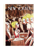 The New Yorker Cover - January 15, 1938 Premium Giclee Print by Peter Arno