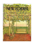 The New Yorker Cover - September 27, 1982 Regular Giclee Print by Jenni Oliver