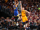 2015 NBA Finals - Game Three Photographic Print by Nathaniel S Butler