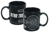 Star Trek Enterprise Line Art 20 Oz. Mug Taza