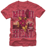 Miami Heat- Iron Man T-shirts