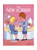 The New Yorker Cover - June 11, 1990 Regular Giclee Print by Barbara Westman