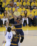 JR Smith Shooting in Game 2 of the 2015 NBA Finals Photo