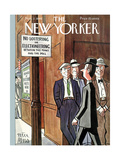 The New Yorker Cover - November 2, 1940 Regular Giclee Print by Peter Arno