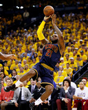 LeBron James Fade Away Jumper in Game 2 of the 2015 NBA Finals Photo