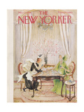 The New Yorker Cover - March 21, 1959 Giclee Print by Mary Petty