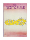 The New Yorker Cover - April 5, 1976 Regular Giclee Print by Arnie Levin