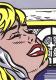 Shipboard Girl Print by Roy Lichtenstein