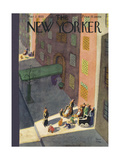 The New Yorker Cover - March 2, 1935 Premium Giclee Print by Robert J. Day