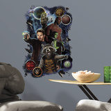 Marvel Guardians of the Galaxy Heros Wall Graphix Wall Decal