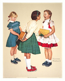 Missing Tooth Collectable Print by Norman Rockwell