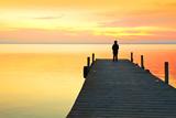 Thinking Alone Photographic Print by  kesipun