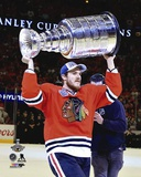 Andrew Shaw Celebrating with the Stanley Cup  2015 Photo