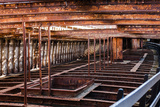 Rusting Ship Structure Photographic Print by  RR