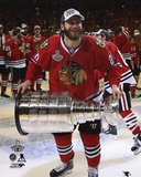 Brandon Saad Celebrating with the Stanley Cup  2015 Photo