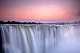 Victoria Falls at Dusk from Zimbabwe Photographic Print by  2630ben