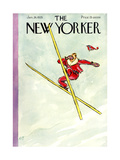 The New Yorker Cover - January 26, 1935 Premium Giclee Print by Perry Barlow