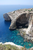 Blue Grotto Photographic Print by  alanf