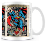 Superman Montage Mug Mug