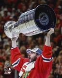 Brent Seabrook Celebrating with the Stanley Cup  2015 Photo