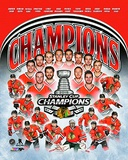 Chicago Blackhawks 2015 Stanley Cup Champions team composite Photo