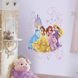 Disney Princess Wall Graphix Vinilo decorativo