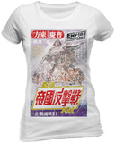 Juniors: Star Wars - Japanese Poster T-shirts