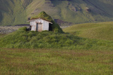 Abandoned Cabin.Iceland. South Area. Lakagigar. Photographic Print by ABB Photo