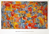 Jasper Johns - Map (sm) - Art Print
