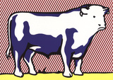 Bull VII Art by Roy Lichtenstein