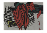 Big Painting 6 Serigrafia di Roy Lichtenstein