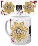 The Walking Dead - Sheriff Badge Mug Mug