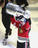 Teuvo Teravainen Celebrating with the Stanley Cup  2015 Photo