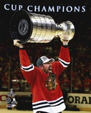 Brad Richards Celebrating with the Stanley Cup  2015 Photo