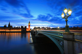 Big Ben London at Night Photographic Print by  aslysun