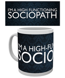 Sherlock - Sociopath Mug Tazza