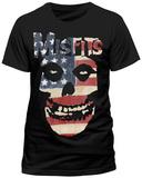 Misfits - Usa Skull Mikiny