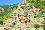 Ancient Turkish City Located in the Rock Photographic Print by  metamorfoza