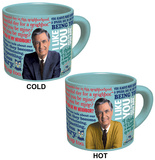 Mr. Rogers Sweater Changing Mug Mug