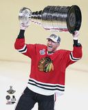 Marian Hossa Celebrating with the Stanley Cup  2015 Photo