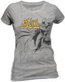 Juniors: Batgirl - Swinging T-Shirt