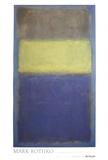 Mark Rothko - No. 2/No. 30  (Yellow Center) - Reprodüksiyon