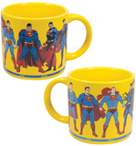 Superman Through the Years Mug Mug
